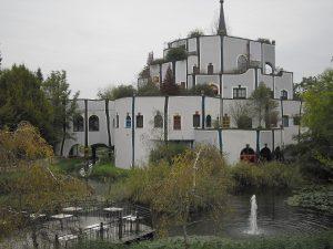 hundertwasser épületei