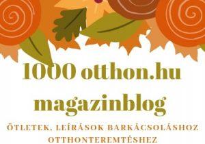 1000 otthon blog őszi munkák