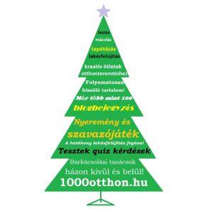 1000 otthon magazinblog karácsony