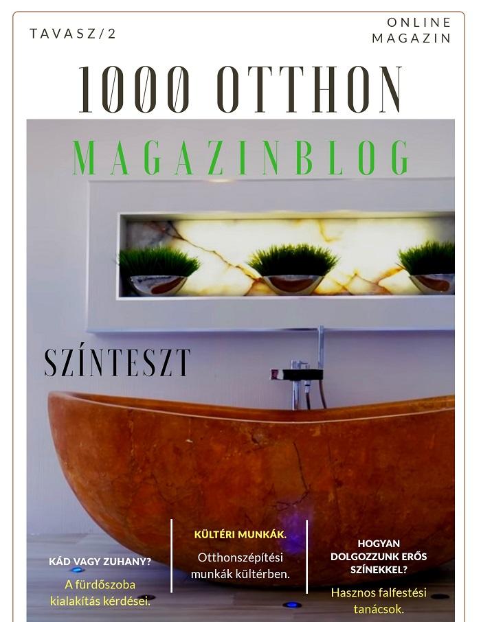 1000 otthon online magazin tavasz 2