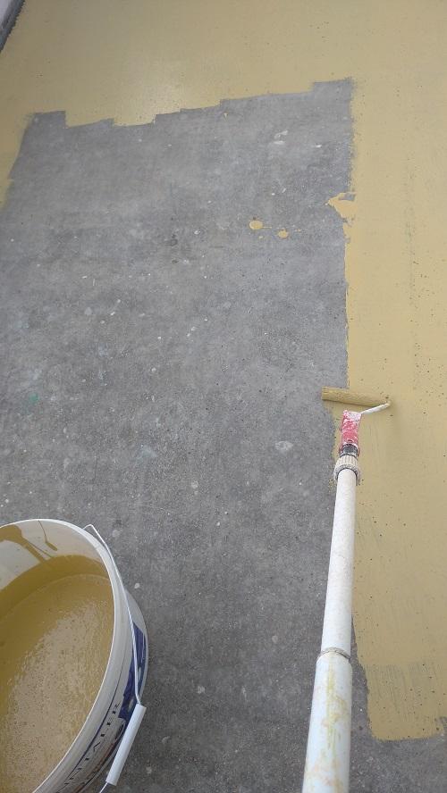 padlófestés 3
